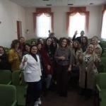 Відбулася зустріч здобувачів вищої освіти з Інною Кривешко, президентом ГО «Вінницька асоціація гостинності «ХлібСіль»