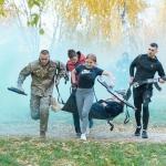 Студенти ВТЕІ КНТЕУ взяли участь у обласному спортивному заході «Козацькі забави-2021»