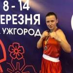 Вітаємо студентку ВТЕІ КНТЕУ з срібною нагородою у чемпіонаті України з боксу